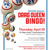 Drag Queen Bingo v2.0 -Part II : The Crazy 88s proudly present the second annual DRAG QUEEN BINGO.